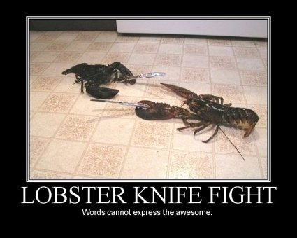 lobsterknifefight